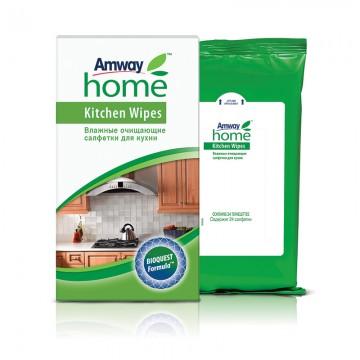 Влажные очищающие салфетки для кухни Amway Home