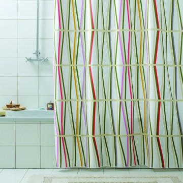 Шторка для ванной текстильная Baccetta Bambu 200х180 см