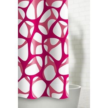 Текстильная занавеска для ванной Baccetta Corallo 200х180 см