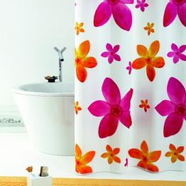 Штора текстильная для ванной комнаты Baccetta Dafne 200х180 см