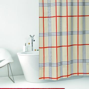 Штора текстильная для ванной комнаты Baccetta Fabric 200х180 см