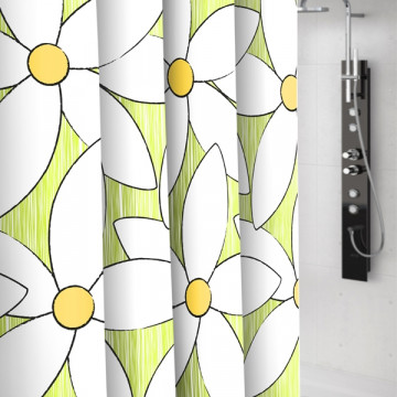 Штора текстильная для ванной комнаты Baccetta Magnolia 200х180 см