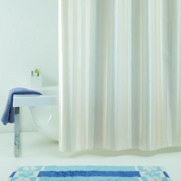 Текстильная занавеска для ванной Baccetta Rigone бежевая 200х180 см