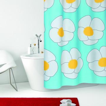 Шторка текстильная в ванную Baccetta Yoko 200х180 см