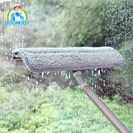 Швабра для мытья стекол с вращением моющего основания BoomJoy
