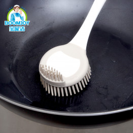 Щетка для мытья посуды и сковородок с резиновым ворсом Boomjoy Brush