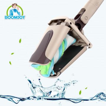 Хозяйственная швабра для мытья полов с отжимом Boomjoy Twist EN 340