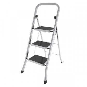 Алюминиевая лестница-стремянка с широкими ступенями Colombo Factotum 3