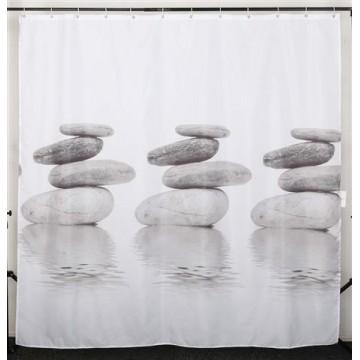 Штора для ванной текстильная Dasch La Vita Гармония 200х180 см