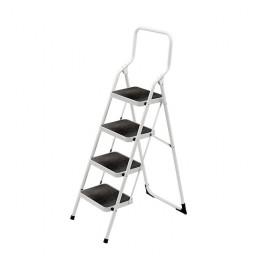Лестница-стремянка стальная Framar Major 4 с высокой ручкой и широкими ступеньками