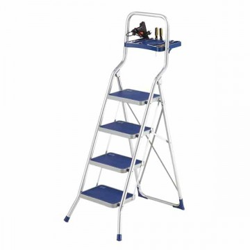 Лестница-стремянка алюминиевая 4 ступени Framar Major Tech 4 Aluminium