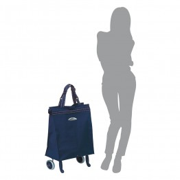 Хозяйственная сумка на колесиках Gimi Brava