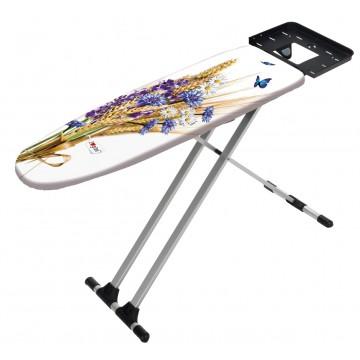 Легкая гладильная доска с алюминиевыми ножками Gimi Capri