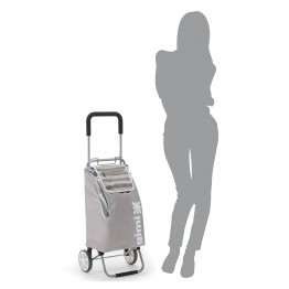 Хозяйственная сумка тележка на колесах со складной ручкой Gimi Flexi