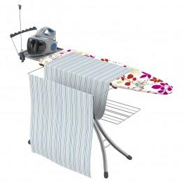 Гладильная доска с полочкой для постельного белья Gimi Advance 140