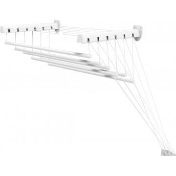 Потолочно-настенная сушилка бельевая Gimi Lift 160 в ванную