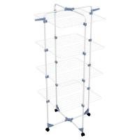 Вертикальная напольная сушилка для белья на колесах Gimi Modular 4