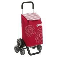 Шагающая сумка-тележка хозяйственная на 6 колесах Gimi Tris
