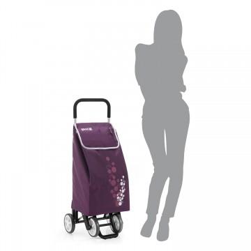Хозяйственная сумка-тележка на 4 колесах Gimi Twin