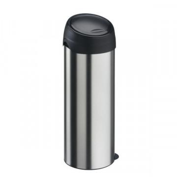 Бак для мусора Meliconi 40 литров нержавеющая сталь
