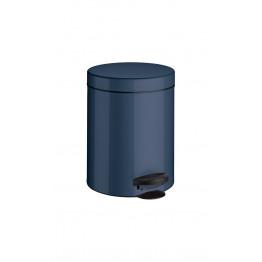 Ведро мусорное с крышкой и педалью Meliconi Синий 5 литров