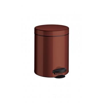Ведро мусорное с крышкой и педалью Meliconi Бордо 5 литров