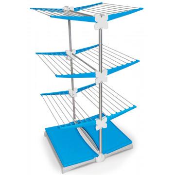 Напольная вертикальная сушилка-трансформер для белья  на колесах Meliconi Stendy Junior