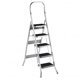 Алюминивая стремянка-лестница 5 ступенек Scab Balzo